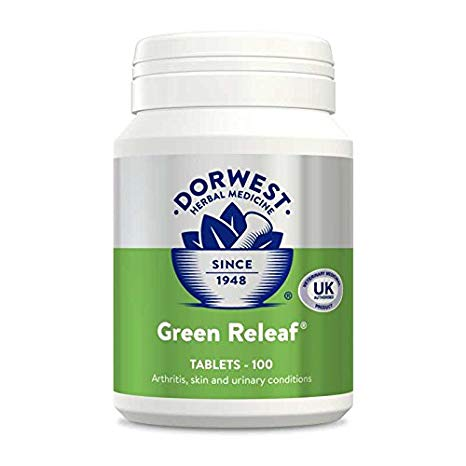 Dorwest Green Releaf Tablets for Dogs & Cats