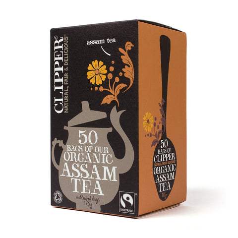 Clipper Fairtrade Organic Assam Teabags