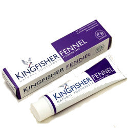 Kingfisher Toothpaste Fennel Fluoride Free by Kingfisher