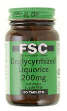 FSC Deglycyrrhized Liquorice 200mg by Food Supplement Co.