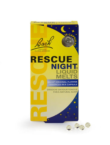 Bach Flower Rescue Night Liquid Melts