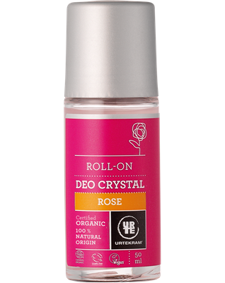Urtekram Rose Deodorant Crystal Roll-On