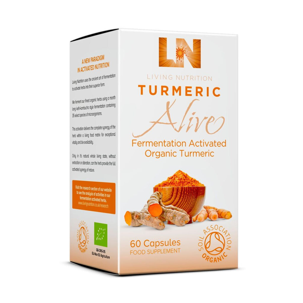 Living Nutrition Organic Turmeric Alive