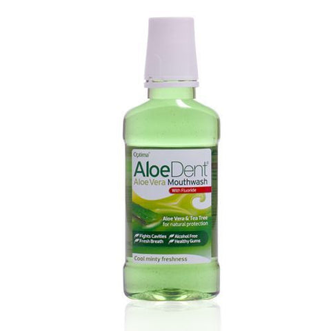Aloe Dent Aloe Vera Mouthwash with Fluoride