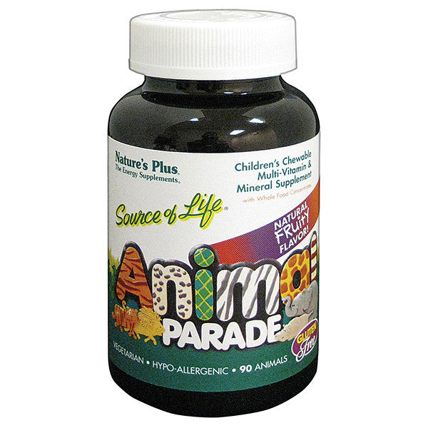 Natures Plus Animal Parade Assorted Multivitamin & Mineral