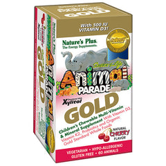 Natures Plus Animal Parade Gold Cherry Flavour