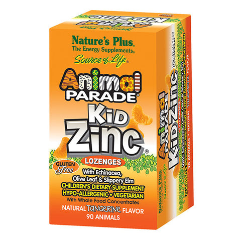 Natures Plus KidZinc Lozenges