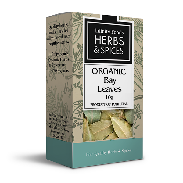 Infinity Herbs & Spices Organic Bay Leaves