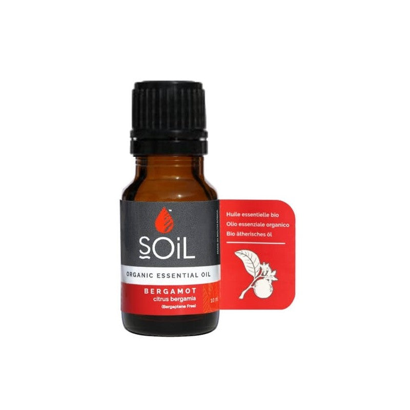 SOiL Organic Bergamot Essential Oil