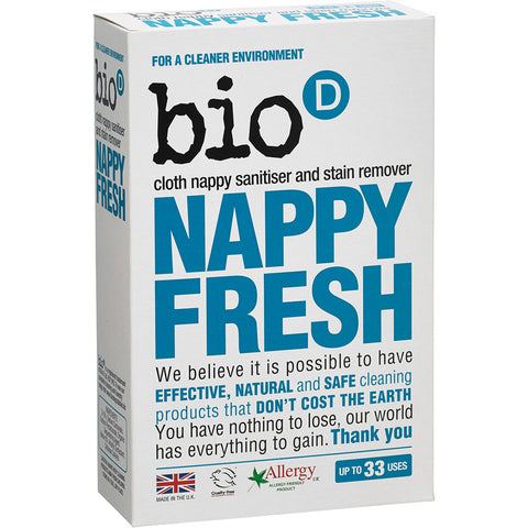 Bio-D Nappy Fresh Nappy Sanitiser & Stain Remover