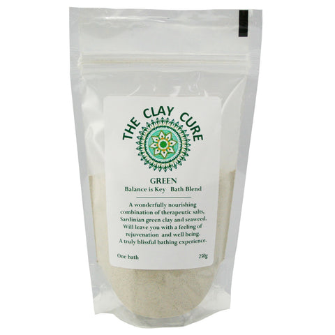 The Clay Cure Bath Blend - Green