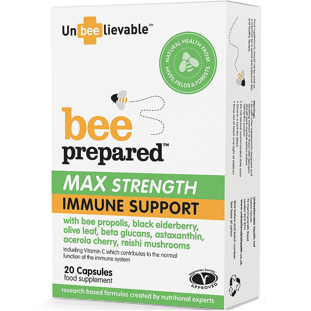 Bee Prepared Max Strength Immune Support