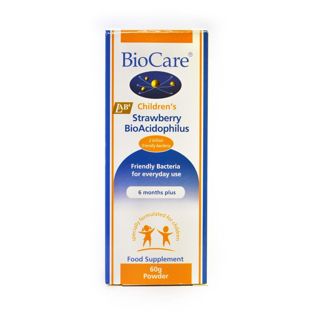 BioCare Children's Strawberry Bio-Acidophilus Powder
