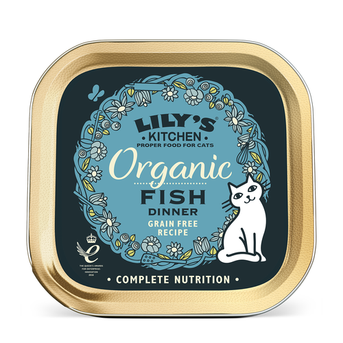 Lily's Cat Food - Fish Dinner