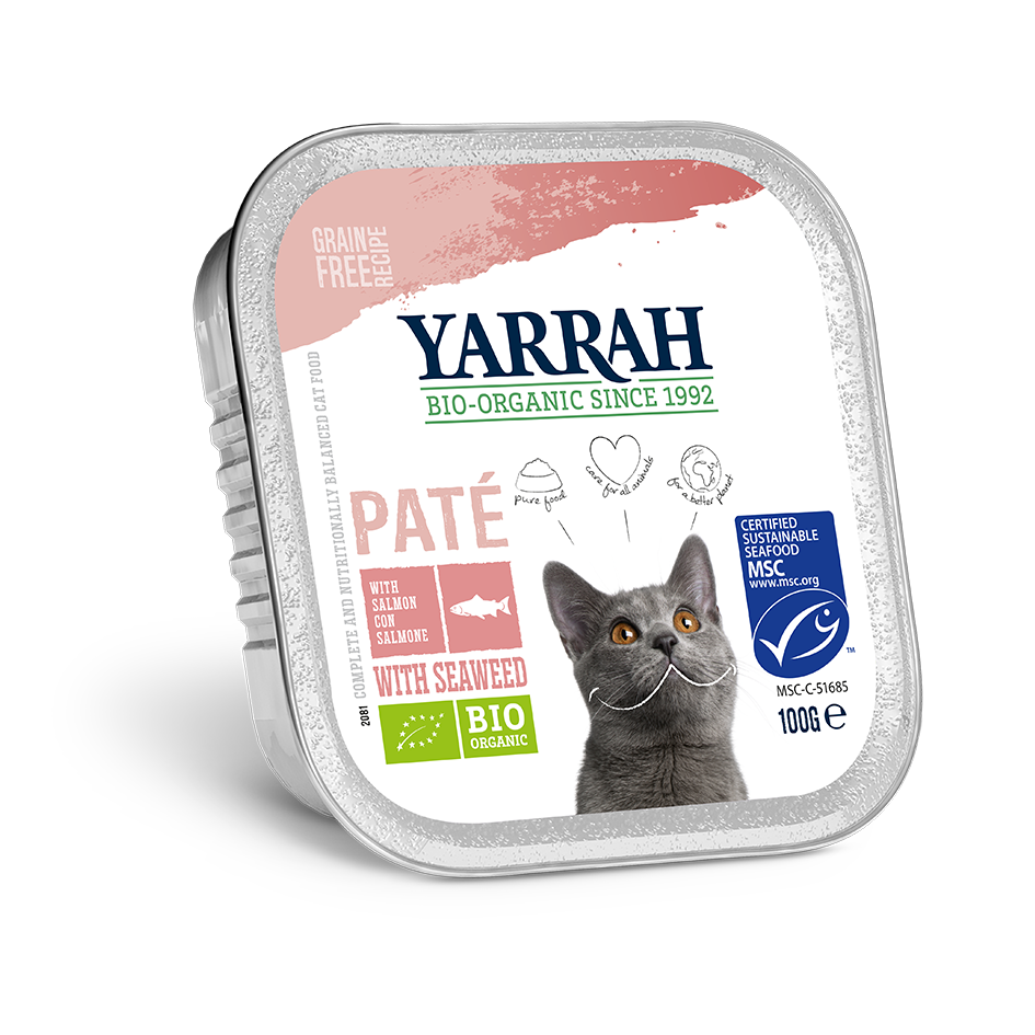 Yarrah Cat Pate - Salmon with Seaweed