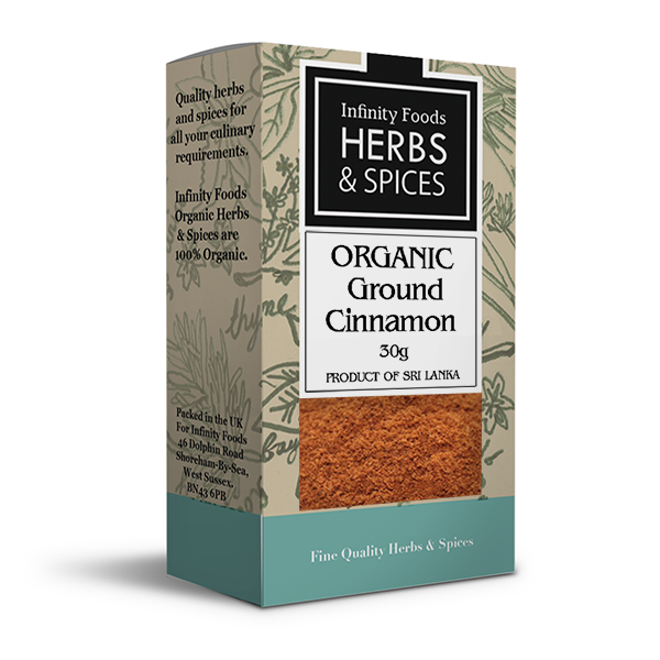 Infinity Herbs & Spices Organic Cinnamon (Ground)