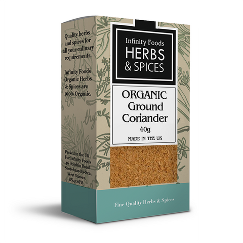 Infinity Herbs & Spices Organic Coriander (Ground)