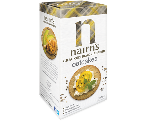 Nairns Oatcakes - Cracked Black Pepper