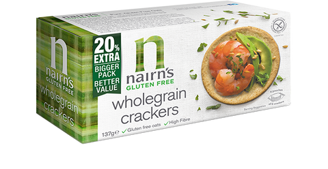 Nairns Gluten Free Wholegrain Crackers