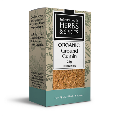 Infinity Herbs & Spices Organic Cumin (Ground)