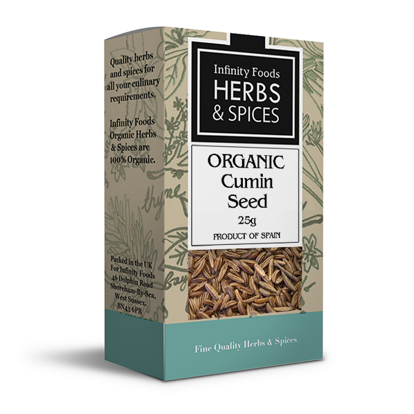 Infinity Herbs & Spices Organic Cumin Seed
