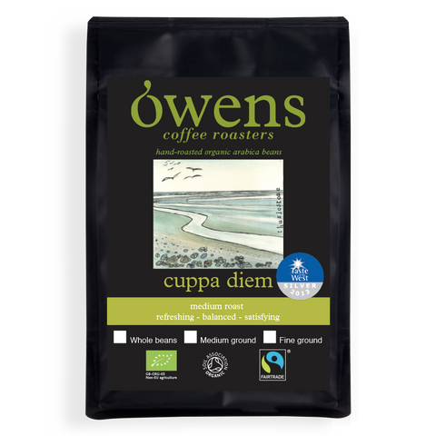Owens Organic Cuppa Diem Ground Coffee