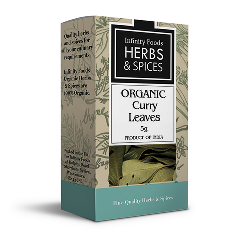 Infinity Herbs & Spices Organic Curry Leaves