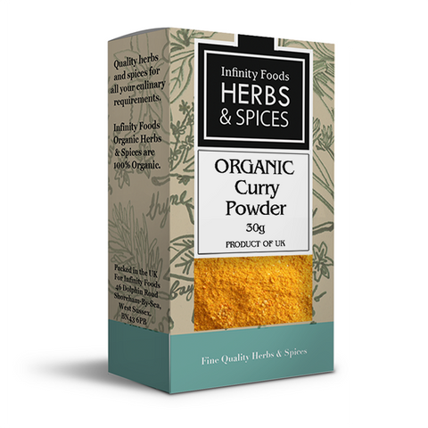 Infinity Herbs & Spices Organic Curry Powder