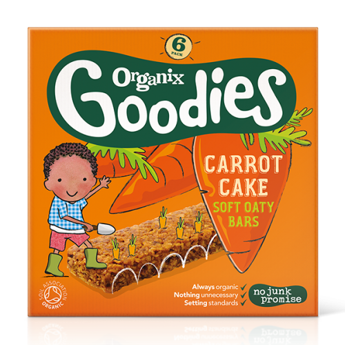 Organix Goodies Bars - Carrot Cake
