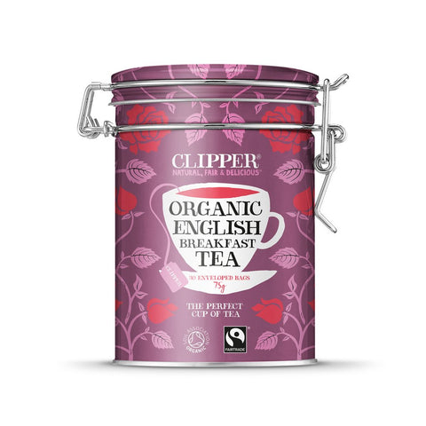 Clipper Organic English Breakfast Caddy