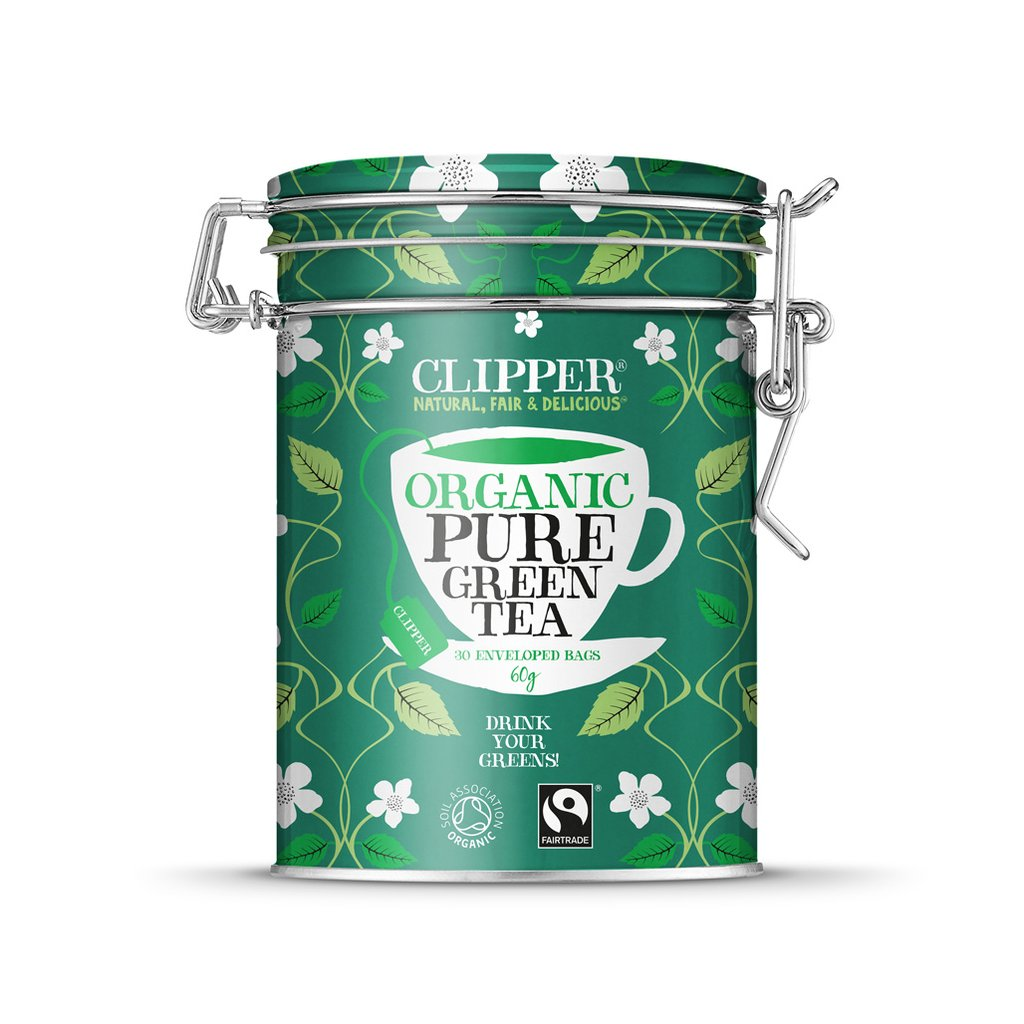 Clipper Organic Pure Green Caddy