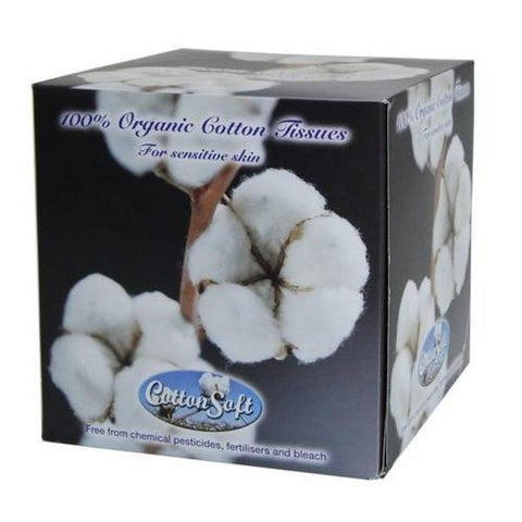 CottonSoft Organic Facial Tissues
