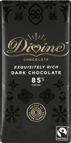 Divine 85% Dark Chocolate