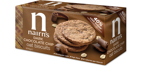 Nairns Oat Biscuits - Dark Chocolate Chip