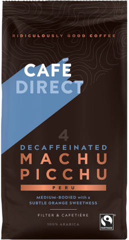 Cafedirect Machu Picchu Decaf Coffee