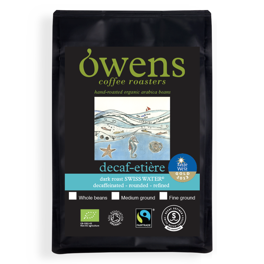Owens Organic Decaf-etiere Ground Coffee