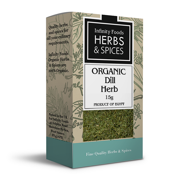 Infinity Herbs & Spices Organic Dill Herb