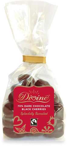 Divine Dark Chocolate Black Cherries