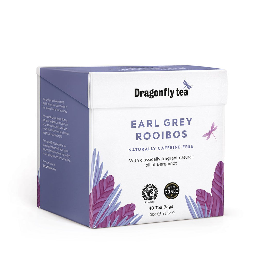 Dragonfly Earl Grey Rooibos Tea