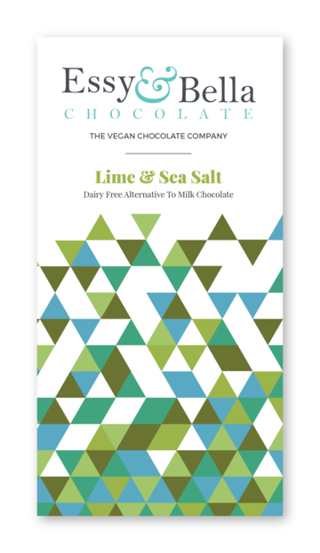 Essy & Bella Lime and Sea Salt Chocolate