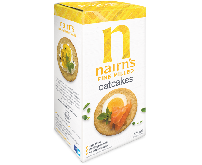 Nairns Oatcakes - Fine Milled