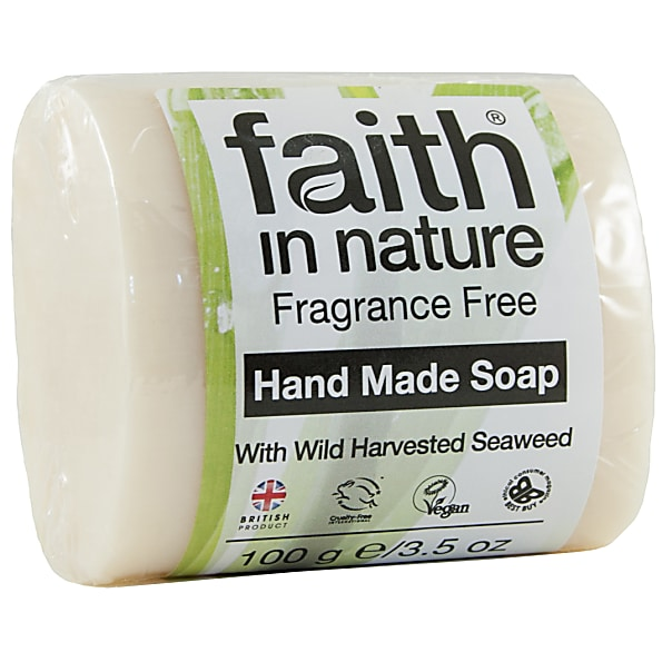 Faith in Nature Fragrance Free Seaweed Soap