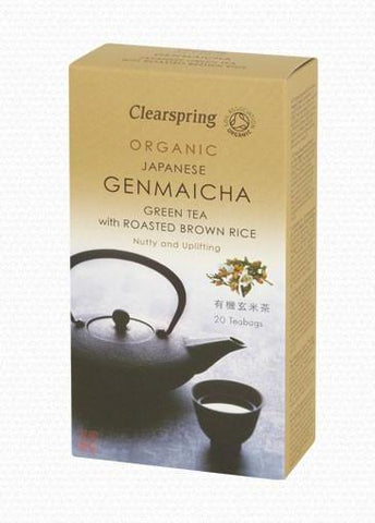Clearspring Genmaicha Green Tea