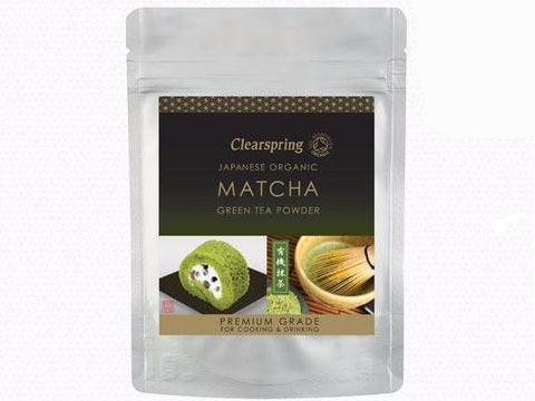 Clearspring Organic Matcha Green Tea Powder - Premium