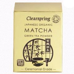 Clearspring Organic Matcha Green Tea Powder - Ceremonial Grade