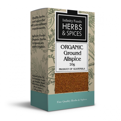 Infinity Herbs & Spices Organic Allspice (Ground)