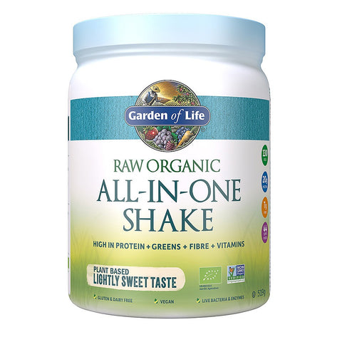 Garden of Life RAW Organic All-In-One Lightly Sweet Shake