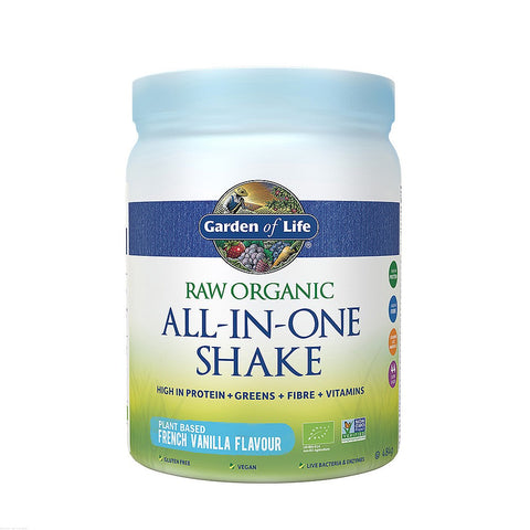 Garden of Life RAW Organic All-In-One Vanilla Shake