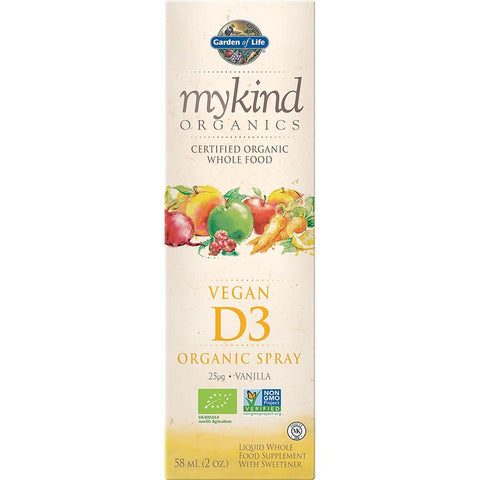 Garden of Life MyKind Organics Vitamin D3 Spray