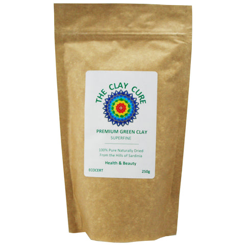 The Clay Cure Premium Green Clay Powder